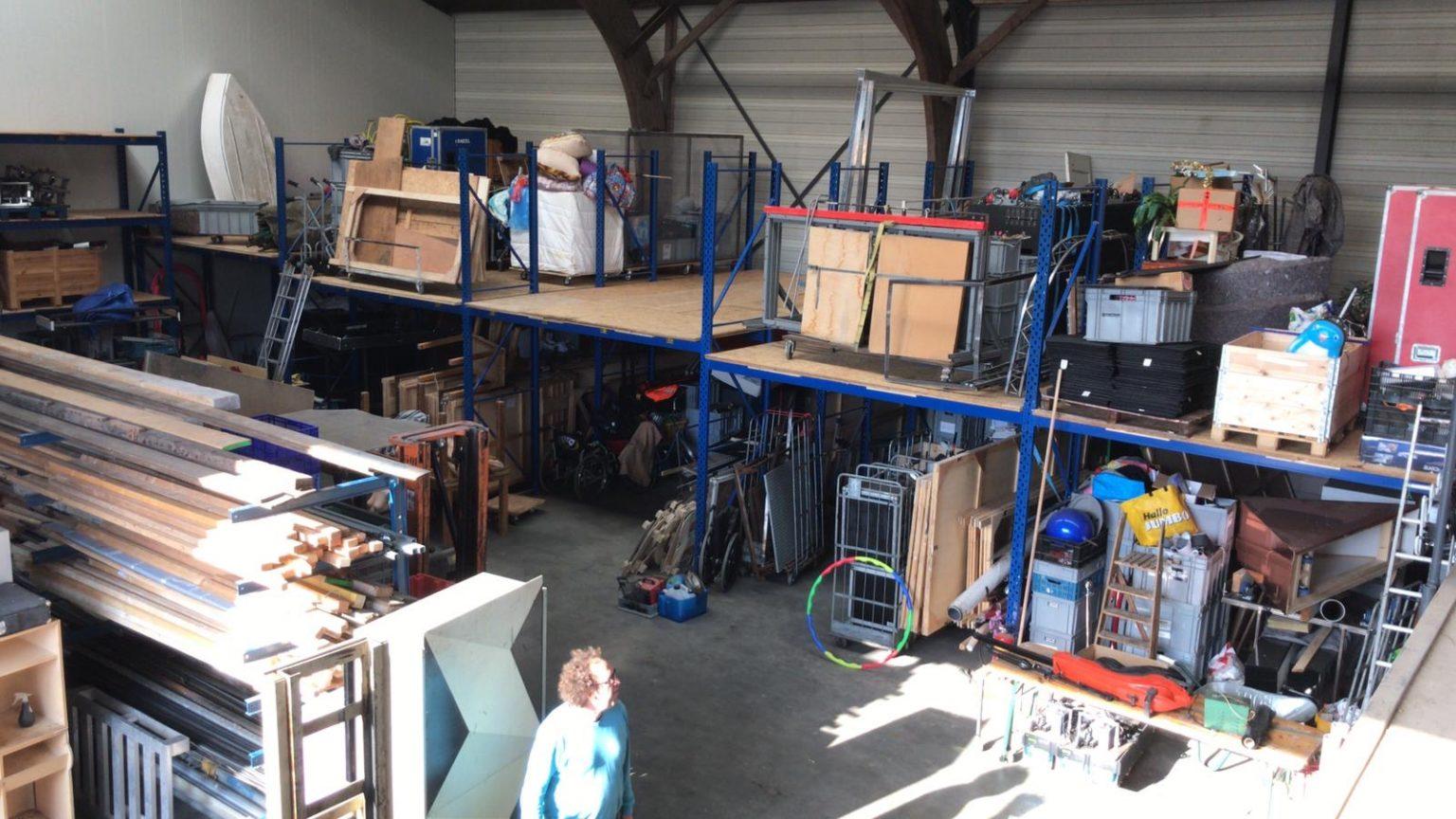 Theater Artemis - Artemis verhuisd naar nieuwe werkplaats