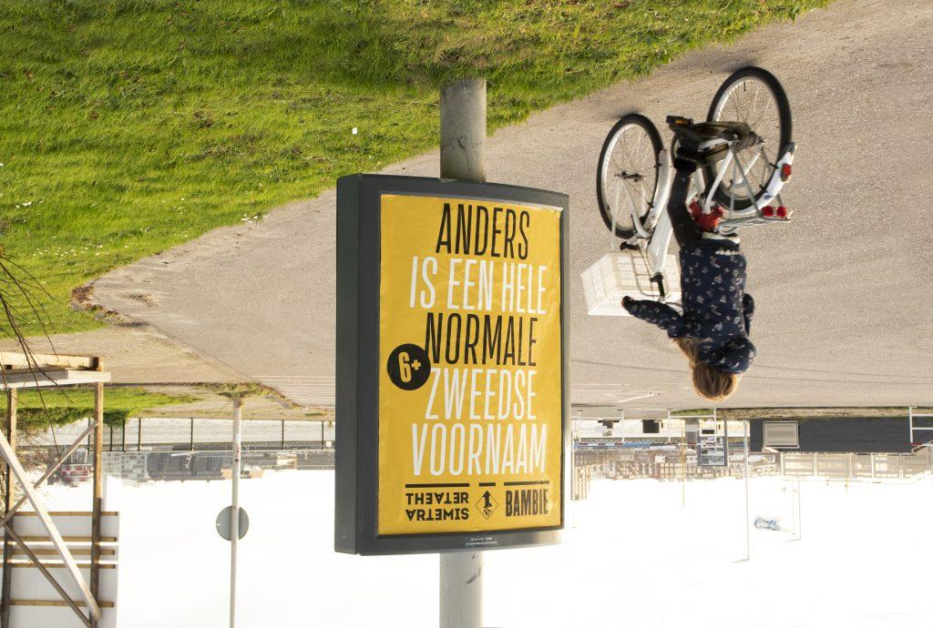 Theater Artemis - Anders is een hele normale Zweedse voornaam 6+
